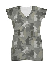 Camo Border Collie All-over Dress thumbnail