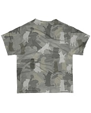Camo Border Collie All-over T-Shirt back