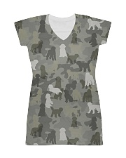 Camo Goldendoodle All-over Dress thumbnail