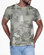 Camo Goldendoodle All-over T-Shirt aos-all-over-T-shirt-lifestyle-front-04