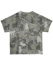 Camo Goldendoodle All-over T-Shirt back