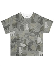 Camo Goldendoodle All-over T-Shirt front