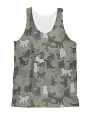 Camo Goldendoodle All-over Unisex Tank thumbnail