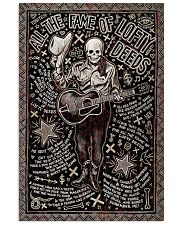 Guitar All The Fame Of Lofty Deeds 11x17 Poster front