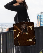Labrador Retriever - ZP - 02 All-over Tote aos-all-over-tote-lifestyle-front-05