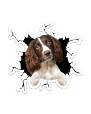 English Springer Spaniel Sticker - Single (Vertical) front