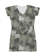 Camo Pomeranian All-over Dress thumbnail