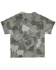 Camo Pomeranian All-over T-Shirt back