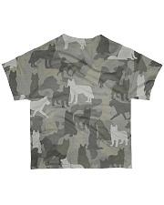 Camo Husky All-over T-Shirt back