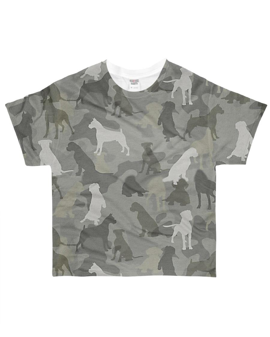 Camo Boxer All-over T-Shirt