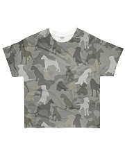 Camo Boxer All-over T-Shirt front