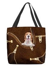 Beagle - ZP All-over Tote back