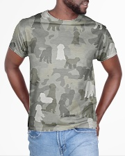 Camo Labradoodle All-over T-Shirt aos-all-over-T-shirt-lifestyle-front-04