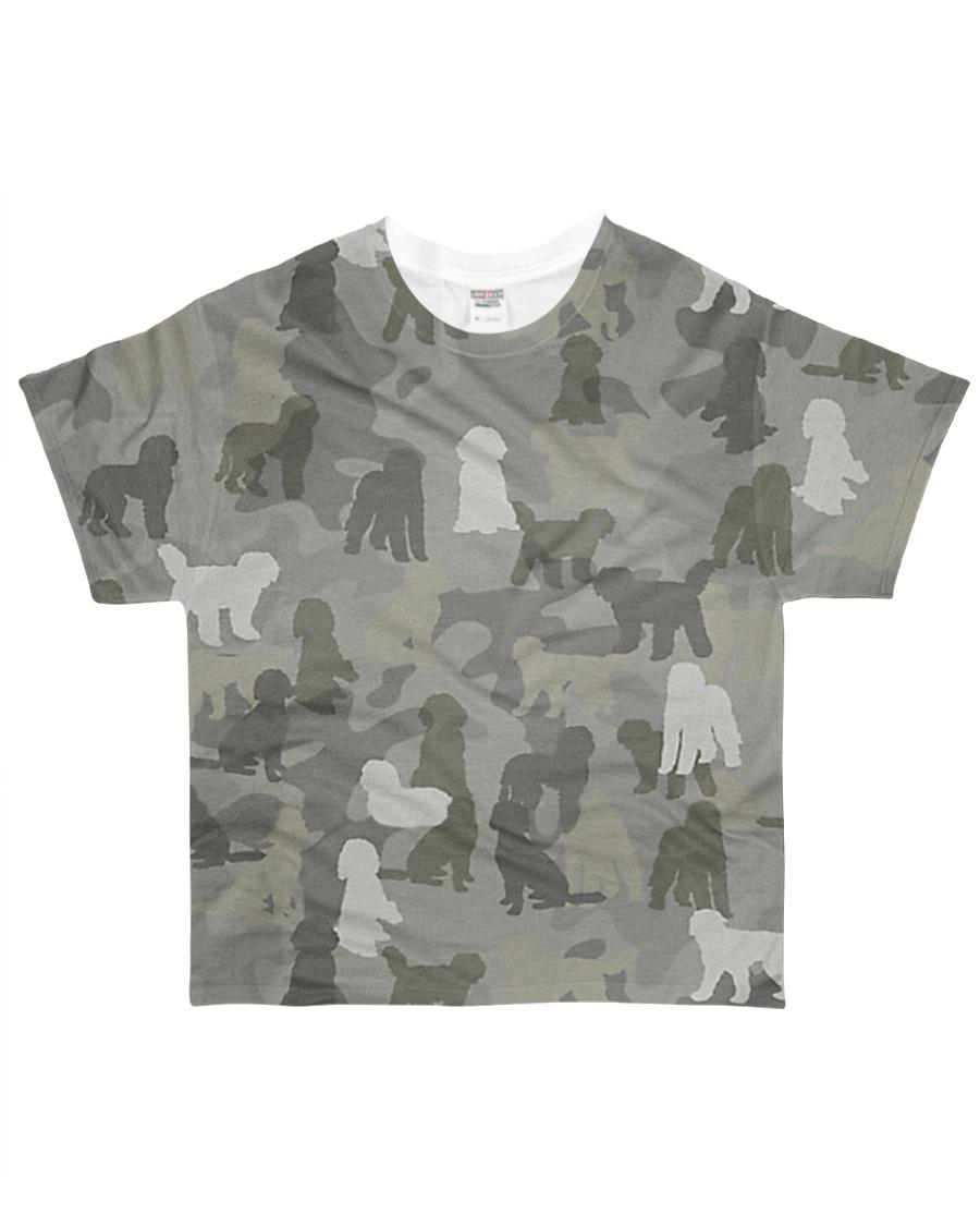 Camo Labradoodle All-over T-Shirt
