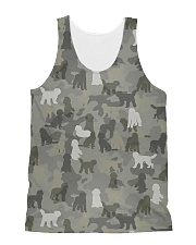 Camo Labradoodle All-over Unisex Tank thumbnail