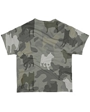 Shiba Inu - Camouflage All-over T-Shirt back
