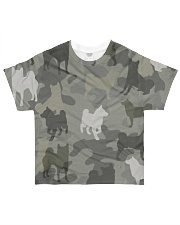 Shiba Inu - Camouflage All-over T-Shirt front