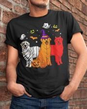 Dachshund - Halloween Classic T-Shirt apparel-classic-tshirt-lifestyle-26