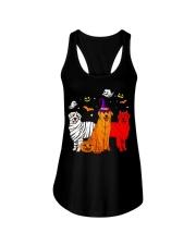 Dachshund - Halloween Ladies Flowy Tank thumbnail