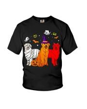Dachshund - Halloween Youth T-Shirt thumbnail