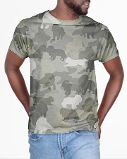 Camo Cavalier King Charles Spaniel  All-over T-Shirt aos-all-over-T-shirt-lifestyle-front-04
