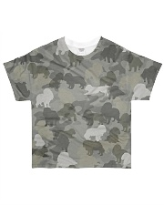 Camo Cavalier King Charles Spaniel  All-over T-Shirt front
