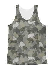 Camo Cavalier King Charles Spaniel  All-over Unisex Tank thumbnail