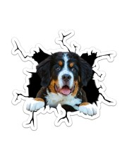 Bernese Mountain Dog Sticker - Single (Vertical) front