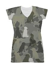 Labrador Retriever - Camouflage All-over Dress thumbnail