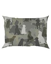 Labrador Retriever - Camouflage Rectangular Pillowcase thumbnail