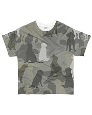 Labrador Retriever - Camouflage All-over T-Shirt front