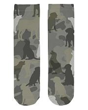 Labrador Retriever - Camouflage Crew Length Socks thumbnail