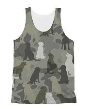 Labrador Retriever - Camouflage All-over Unisex Tank thumbnail