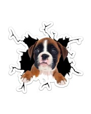 Boxer Sticker - Single (Vertical) front