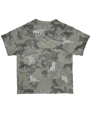 Camo Australian Cattle All-over T-Shirt back