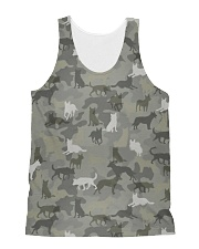 Camo Australian Cattle All-over Unisex Tank thumbnail