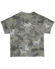 Camo Jack Russell Terrier-2 All-over T-Shirt back
