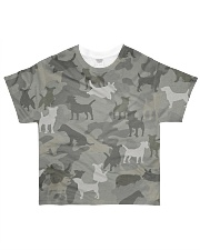 Camo Jack Russell Terrier-2 All-over T-Shirt front