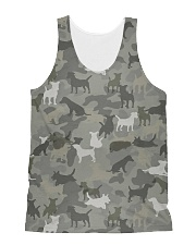 Camo Jack Russell Terrier-2 All-over Unisex Tank thumbnail