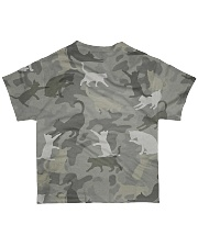 Camo Cat All-over T-Shirt back