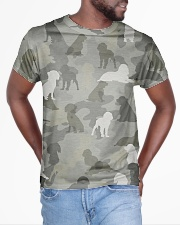 Camo English Springer Spaniel All-over T-Shirt aos-all-over-T-shirt-lifestyle-front-04