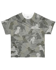Camo English Springer Spaniel All-over T-Shirt front