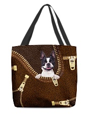 Boston Terrier All-over Tote front