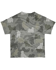 Camo Maltese  All-over T-Shirt back