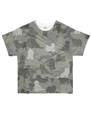 Camo Maltese  All-over T-Shirt front