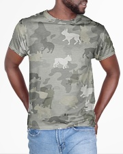 Camo Boston Terrier All-over T-Shirt aos-all-over-T-shirt-lifestyle-front-04