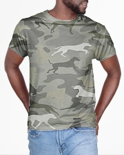 Camo Rhodesian Ridgeback All-over T-Shirt aos-all-over-T-shirt-lifestyle-front-04