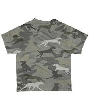 Camo Rhodesian Ridgeback All-over T-Shirt back