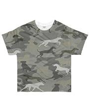 Camo Rhodesian Ridgeback All-over T-Shirt front