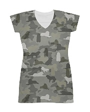 Camo Great Pyrenees All-over Dress thumbnail